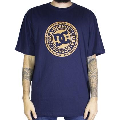 Camiseta Dc Shoes Circle Star Azul Marinho