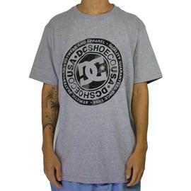 Camiseta Dc Shoes Circle Star Camo Cinza