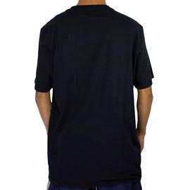 Camiseta Dc Shoes Circle Star Camo Preto