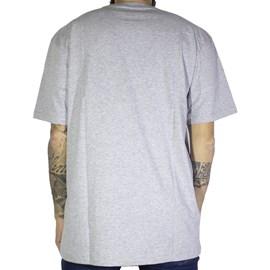 Camiseta Dc Shoes Circle Star Cinza