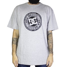 Camiseta Dc Shoes Circle Star Cinza