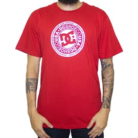 Camiseta Dc Shoes Circle Star Red