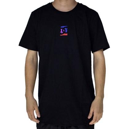 Camiseta Dc Shoes Color Block Preto