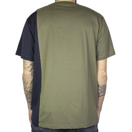 Camiseta Dc Shoes Dagup 4 Verde Militar