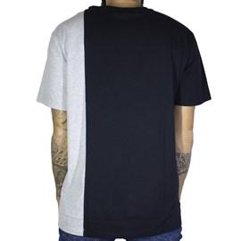 Camiseta Dc Shoes Dagup Triple Block 4 Cinza
