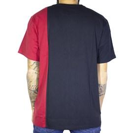 Camiseta Dc Shoes Dagup Triple Block 4 Vermelho