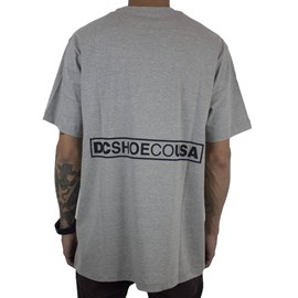 Camiseta Dc Shoes Doxford Cinza