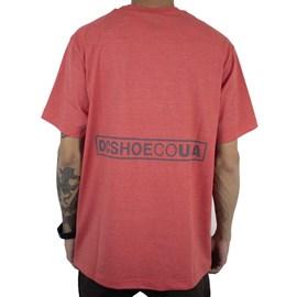 Camiseta Dc Shoes Doxford Vermelho
