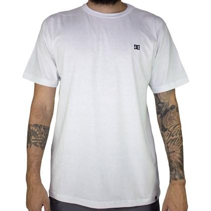 Camiseta Dc Shoes Especial Basic Star Branco