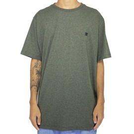 Camiseta Dc Shoes Especial Basic Verde Militar
