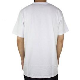 Camiseta Dc Shoes Fuego Branco