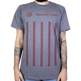 Camiseta Dc shoes Guvnor Cinza