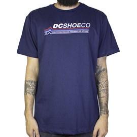 Camiseta Dc Shoes Light Speed Marinho