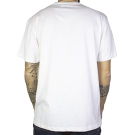 Camiseta Dc Shoes Light Speed White