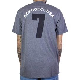 Camiseta Dc Shoes Lucky Seven CInza