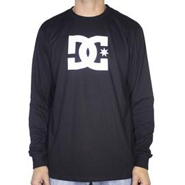 Camiseta Dc Shoes M/l Star Black