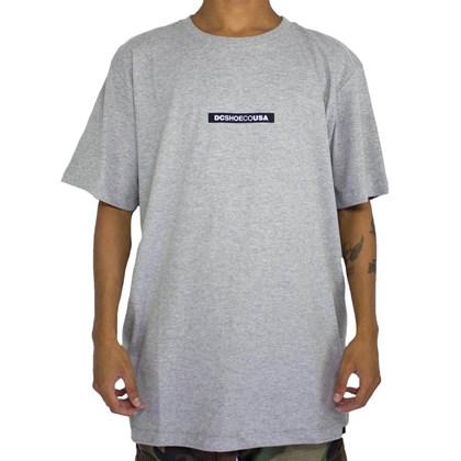 Camiseta Dc Shoes Minimal Cinza