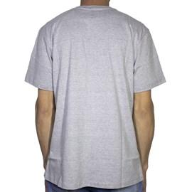 Camiseta Dc Shoes Pillpat Cinza