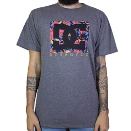 Camiseta Dc Shoes Psyco Cinza