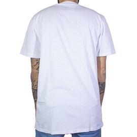 Camiseta Dc Shoes Rackett Branco