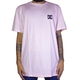 Camiseta Dc Shoes Rosa Claro