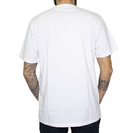Camiseta Dc Shoes Scrib White