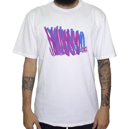 Camiseta Dc Shoes Scrib White