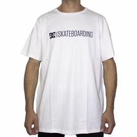 Camiseta Dc Shoes Slim Skateboard White