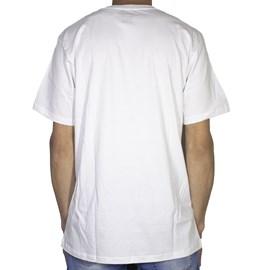 Camiseta Dc Shoes Slim Star Print Branca