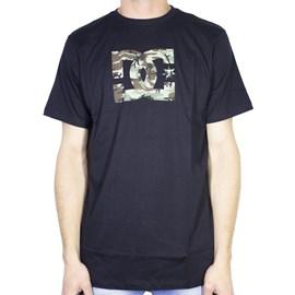 Camiseta Dc Shoes Slim Star Print Preta