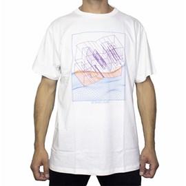Camiseta Dc Shoes Slim Suspension White