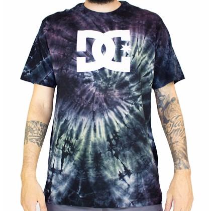 Camiseta Dc Shoes Spiral Tie Dye Multi Color
