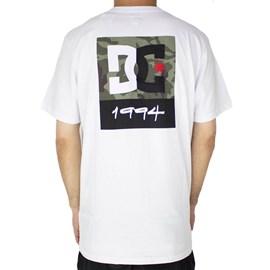 Camiseta Dc Shoes Split Star Branco