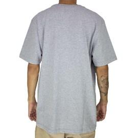 Camiseta Dc Shoes Square Spread Cinza