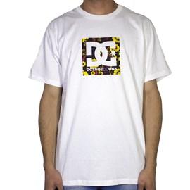 Camiseta Dc Shoes Square Star 2 Branca
