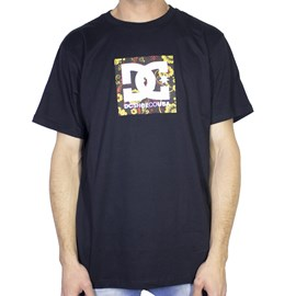 Camiseta Dc Shoes Square Star 2 Preta