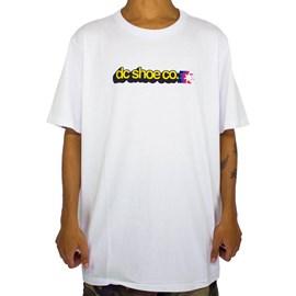 Camiseta Dc Shoes Stacked Star Branco