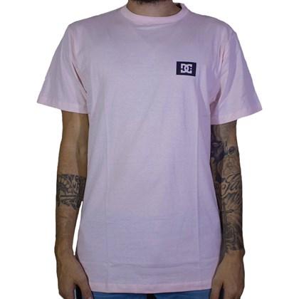 Camiseta Dc Shoes Stage Box Rosa Claro