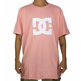 Camiseta Dc Shoes Star Color Rosa