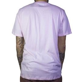 Camiseta Dc Shoes Tounguestar Rosa Claro