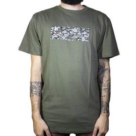 Camiseta Dc Shoes Trestina Verde Militar