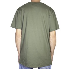 Camiseta Dc Shoes Work Verde Militar