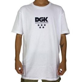 Camiseta Dgk All Star Branco V21DGC55