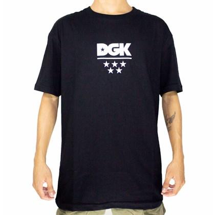 Camiseta Dgk All Star Preta V21DGC55