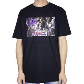 Camiseta Dgk Braided Preta Ptm1081