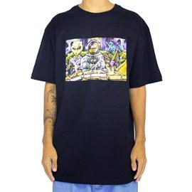 Camiseta Dgk Game Night Black PTM2185