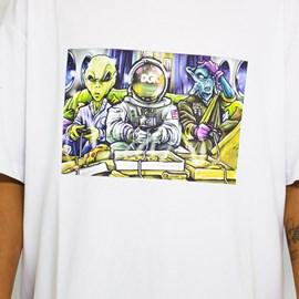 Camiseta Dgk Game Night White PTM2185