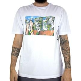 Camiseta Dgk Laundry White PTM-2109