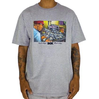 Camiseta Dgk Math Grey PTM2212