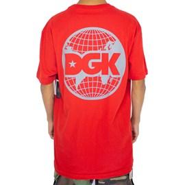 Camiseta Dgk Worldwide Red I21DGC07